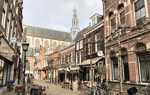 Lunchen in Haarlem